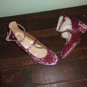 Circus by Sam Edelman Shoes - NIB Pink Velveteen Heels